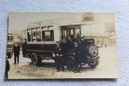 Carte Photo, Compagnie Générale Des Omnibus - Photographie