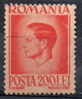Romania, 1945 - 200l King Michel - Nr.586 MNH** - Ungebraucht