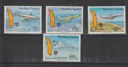 Togo 1985 Avion OACI 1163 Et PA 531-533 4 Val ** MNH - Togo (1960-...)