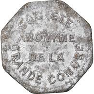 Monnaie, Comores, Société Anonyme De La Grande Comore, Franc, TB+, Aluminium - Comoros