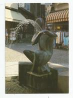 26 Drome Romans La Fontaine Statue Flute Ed Combier - Romans Sur Isere
