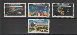 Togo 1986 Comète De Halley 1192 Et PA 589-591 4 Val ** MNH - Togo (1960-...)