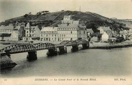 Audierne * Le Grand Pont Et Le Nouvel Hôtel * Ligne Chemin De Fer Du Finistère - Audierne