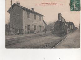 CPA  PRAYE SOUS VAUDEMONT LA GARE TRAIN ENGARE - Andere Gemeenten