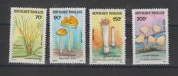 Togo 1986 Champignons 1196-1199 4 Val ** MNH - Togo (1960-...)