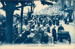 Audierne * Le Marché Au Poisson * Foire Marchands * Garage Du Cap - Audierne