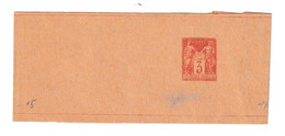 France 3c Postal Stationery Newspaper Wraper Not Posted B210301 - Journaux