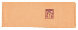 France 2c Postal Stationery Newspaper Wraper Not Posted B210301 - Journaux