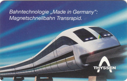 Germany - 1996 -  DE-S 16/96  - DM 12 - Magnetschnellbahn Transrapid  - Used - Look Scans - Trenes