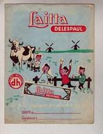 PROTEGE CAHIER : Laitta Delespaul  Chocolat Enfant Vache - Book Covers