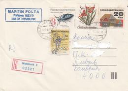 CZECHOSLOVAKIA 1992 Letter - Cartas
