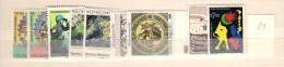 1989 MNH UNO Wien, Vienna, Wenen, Year Complete, Postfris - Nuevos