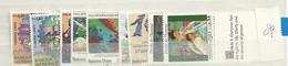 1989 MNH UNO Geneve, Geneva, Genf, Year Complete, Postfris - Nuevos