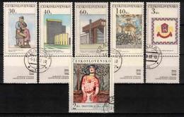 Tchécoslovaquie 1968 Mi 1792-7 Zf (Yv 1641-6 Avec Vignettes), Obliteré - Used Stamps