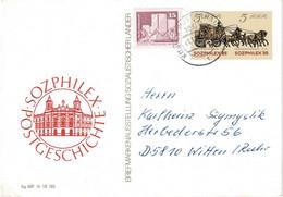 DDR 1985, Michel # P 93 O Sozphilex - Postales - Usados