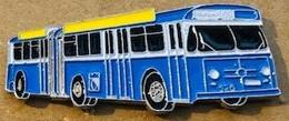 TRANSPORTS PUBLIC VILLE DE ZURICH - SUISSE - BUS BLEU N°69 - 290 / 500 - EN ACCORDEON - AKKORDEON - ACCORDION  -  (BRUN) - Trasporti