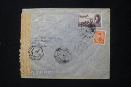 EGYPTE - Enveloppe Commerciale Du Caire Pour Paris Avec Contrôle Postal - L 89674 - Cartas
