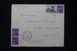 EGYPTE - Enveloppe De Heliopolis Pour Paris En 1946 Par Voie Aérienne B.O.A.C. - L 89675 - Cartas