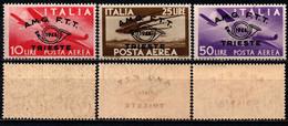 TRIESTE - AMGFTT - 1948 - CONVEGNO FILATELICO - POSTA AEREA - MNH - Correo Aéreo