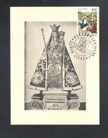 LEBBEKE - O.L.VROUW VAN LEBBEKE TROOSTERES DER BEDRUKTEN - POSTZEGELKRING - 7 - 5 - 1972 - FOTOKAART  (14.622) - Cartas Commemorativas