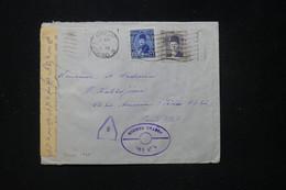 EGYPTE - Enveloppe Du Caire Pour Paris Avec Contrôle Postal - L 89678 - Cartas