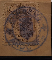 Andorra £ Sello De España Usado En Andorra ( Raro - Used Stamps