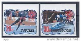 COREE NORD 2406/07b Vainqueurs Jeux Olympiques D'hiver Sarajevo - Winter 1984: Sarajevo