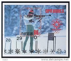 COREE NORD 2408b Vainqueurs Jeux Olympiques D'hiver Sarajevo - Winter 1984: Sarajevo
