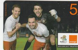 Poland -  Orange - Football UEFA EURO 2012 -  5 Zl - Poland
