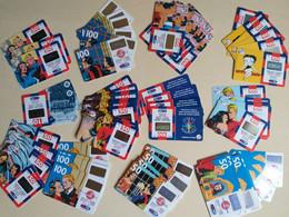 Lotto Ca 100 Schede Ricariche TIM Varie Pezzature - GSM-Kaarten, Aanvulling & Voorafbetaald