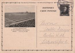 TCHECOSLOVAQUIE 1931  ENTIER POSTAL/GANZSACHE/POSTAL STATIONARY  CARTE ILLUSTREE - Postales