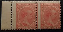 Cuba N130** Sin ,( Dentado Desplazado - Cuba (1874-1898)