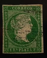 Antillas N5 ( Verde Esmaralda - Cuba (1874-1898)