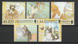 ALDERNEY - AURIGNY 1996 YT N° 94, 96, 97, 98 Et 99 ** - Alderney
