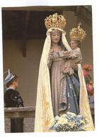 H018 - CHATEAUNEUF DU FAOU - La Statue De La Vierge - Couleurs De Bretagne - Châteauneuf-du-Faou