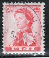 Fiji 1959 Queen Elizabeth 2d Single Definitive Stamp. - Fiji (...-1970)