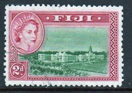 Fiji 1954 Queen Elizabeth 2d Single Definitive Stamp. - Fiji (...-1970)