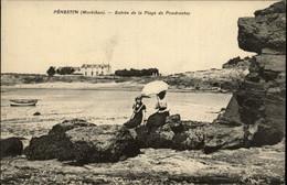 56 - PENESTIN - Plage De Poudrantay - Ombrelle - Pénestin