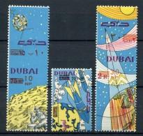 Dubai 1964. Mi 157A-159A ** MNH. - Dubai
