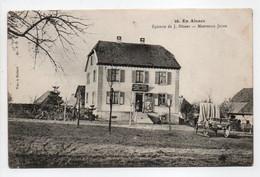 - CPA MONTREUX-JEUNE (68) - Épicerie De J. Ditner 1915 - - Other Municipalities