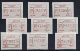 BELGIQUE - ATM 57/9 (10-12-22) Xx - 1980-99