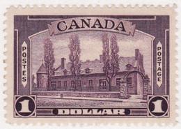 2848) Canada  $1 Regummed - Nuevos