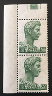 1969 - Italia - San Giorgio Di Donatello - Lire 500 - 1961-70: Mint/hinged