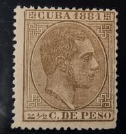 Cuba N64**sin (2  Roto - Cuba (1874-1898)
