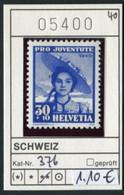 Schweiz - Suisse - Switzerland - Svizzera - Michel 376 - ** Mnh Neuf Postfris - Unused Stamps