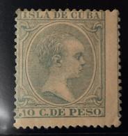 Cuba N150  Pequeño Defecto ( Punto Delante De 10 - Cuba (1874-1898)