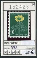 Schweiz - Suisse - Switzerland - Svizzera - Michel 542 - ** Mnh Neuf Postfris - Unused Stamps