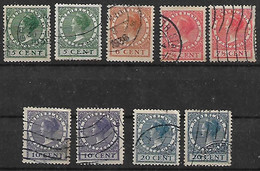 1928 Holanda 9v. - Used Stamps
