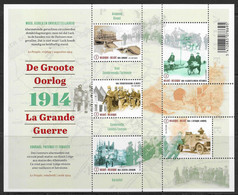 België 2014 Belgique -  BL220xx De Groote Oorlog - La Grande Guerre. - Blocks & Sheetlets 1962-....