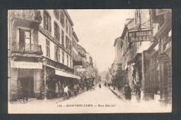 Guerre 1914/1918 - Cachet Militaire Hôpital Complémentaire Du Château à Montbéliard - Rue Cuvier - Montbéliard